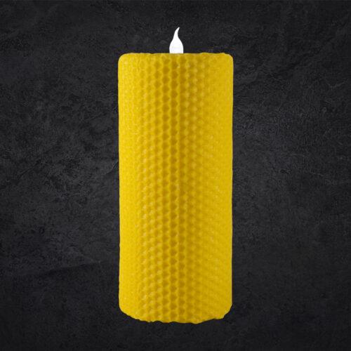 Lumânări tip albină cu LED - 15 cm