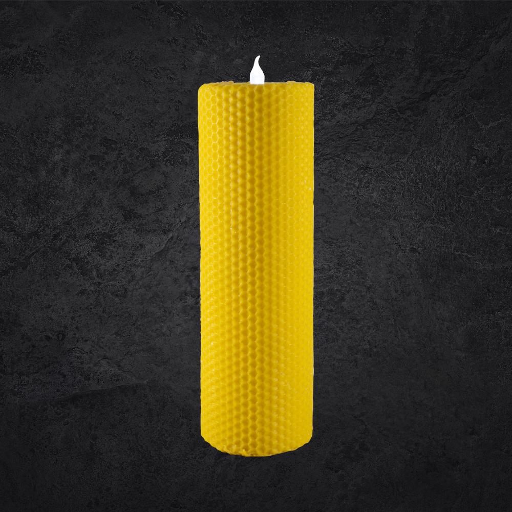Lumânări tip albină cu LED - 20 cm