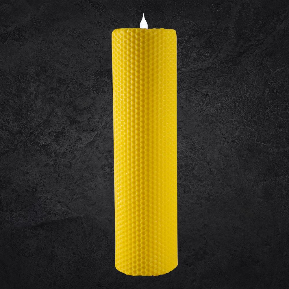 Lumânări tip albină cu LED - 25 cm