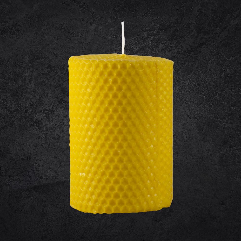 Lumânări tip albină cu LED - 10 cm